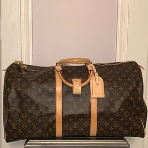 Authentic Louis Vuitton Keepall 55